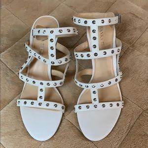 Ivanka Trump white dress heels